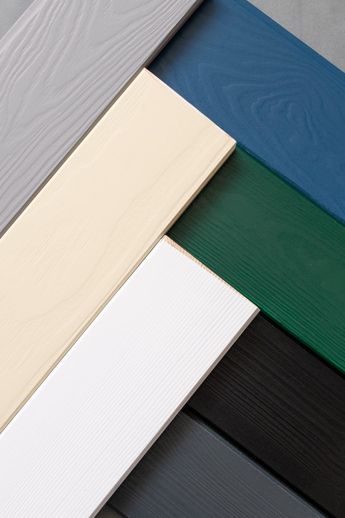 Door colour samples