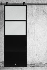 Metal sliding doors for interiors ATELIER 2 model