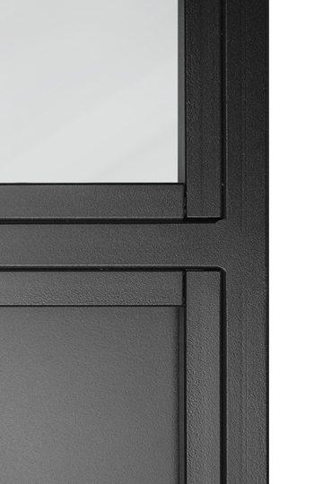 Metal sliding doors with glass ATELIER