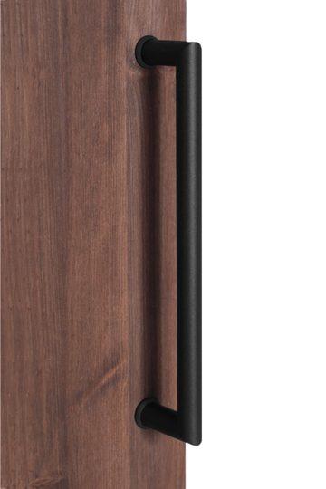 Sliding door handle black KADA