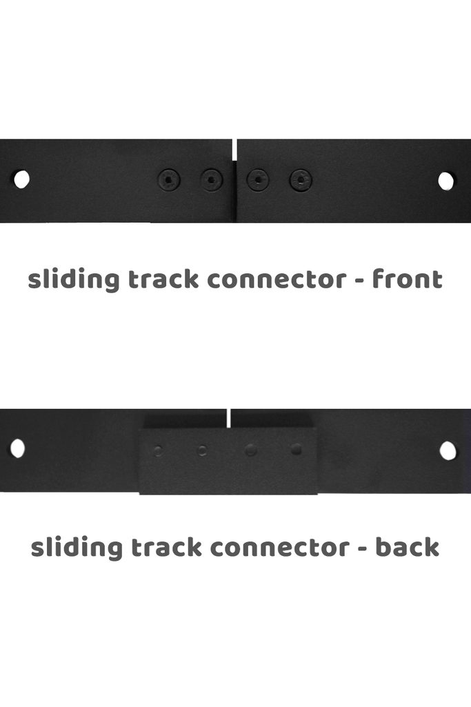Sliding track connector