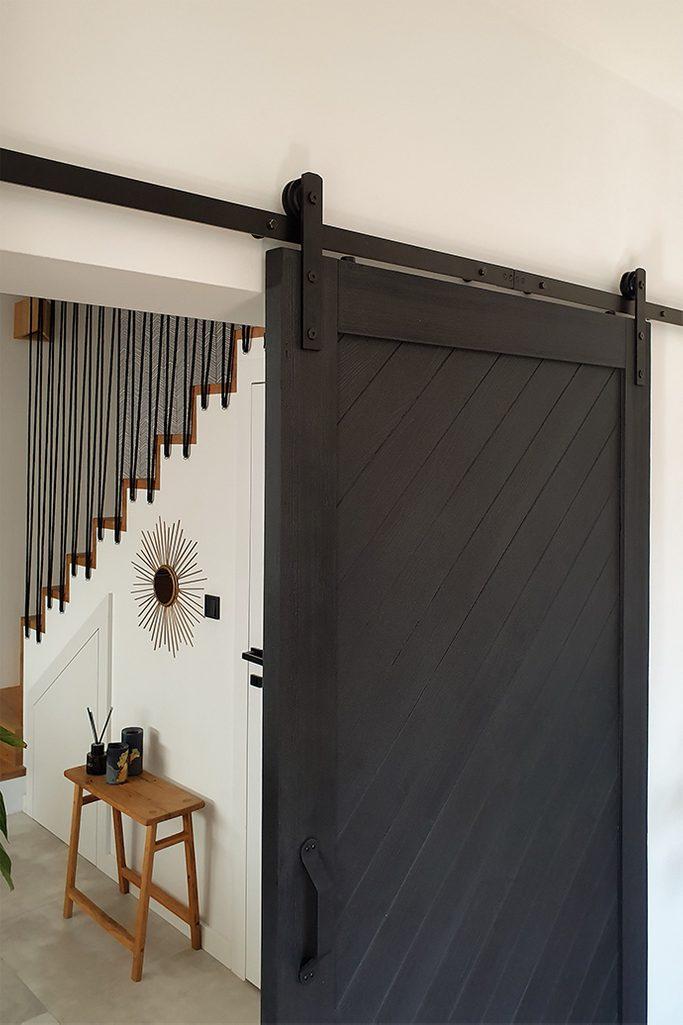 black sliding doors, sliding door rollers