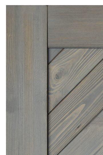 Wooden sliding doors, CARO grey