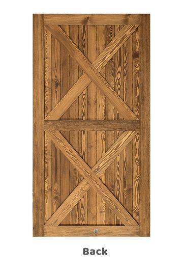 Wooden room door 2IKS
