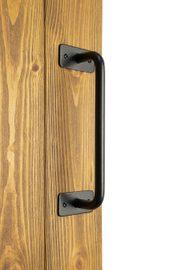 Black metal handle for sliding doors, INKA model